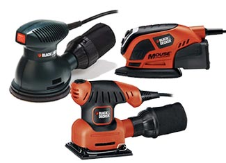 Black and Decker   Sanders/Polishers Parts