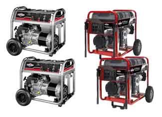 Briggs and Stratton   Generators Parts