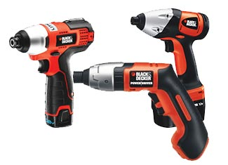 Black and Decker   Impact Wrench Parts
