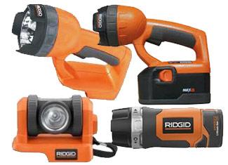 Ridgid   Flashlight Parts