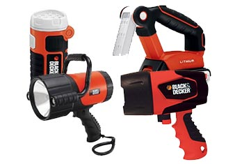 Black and Decker   Flashlight Parts